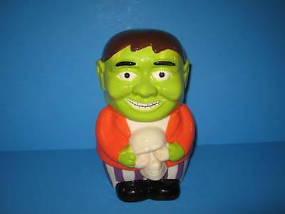 Ceramic Halloween Frankenstein Monster Holding Skull Cookie Jar](Halloween Frankenstein Cookies)