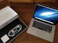 Like new MacBook Pro Retina 15 inch 2.4GHz Quad i7 Apple Care