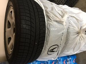 Winter tires & rims (4) for Acura TL 2009-2013 Kitchener / Waterloo Kitchener Area image 3