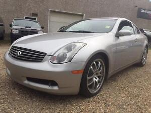 2005 Infiniti G35 Coupe | 6 SPEED | REV | FORGED RIMS