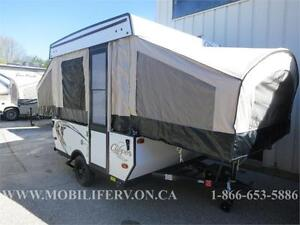 *AMAZING SHAPE 12FT USED TENT TRAILER*2008* 2 KINGS*2.5 POP OUTS