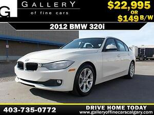 2012 BMW 320i $149 bi-weekly APPLY NOW DRIVE NOW
