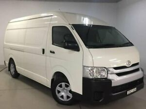 2017 Toyota HiAce KDH221R High Roof Super LWB White 5 Speed Manual Van West Ryde Ryde Area Preview