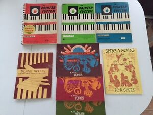 Sheet Music Books OLD