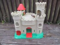 Plastic Toy castle - indoors / outdoors