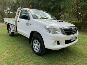 2012 Toyota Hilux 4x4 3.0 Turbo Diesel White 5 Speed Manual Utility Sheldon Brisbane South East Preview