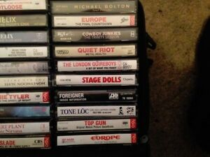 60 Assorted Cassette Tapes