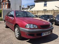 Toyota Avensis 1.8 GS 4dr£695 new clutch at 95000 miles