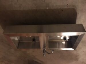 Industrial Sink - Double stainless steel (3 )