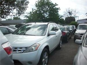 2004 Nissan Murano SL RUNS AND DRIVES AS-TRADED AS-IS