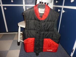 Vintage 'Yamaha' Vest........Timmins Delivery