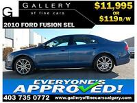 2010 Ford Fusion SEL $119 bi-weekly APPLY TODAY DRIVE TODAY