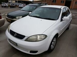 2008 Holden Viva JF MY08 Upgrade White 5 Speed Manual Hatchback Georgetown Newcastle Area Preview