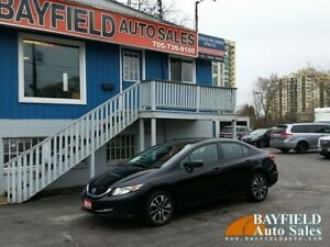 2014 Honda Civic EX Sedan **Auto/Sunroof/Heated Seats/Reverse Ca