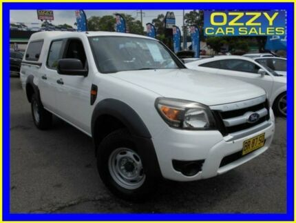 2009 Ford Ranger PK XL (4x4) White 5 Speed Manual Dual Cab Pick-up Penrith Penrith Area Preview