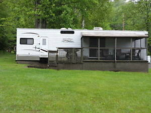 2010 Heartland 40 Ft Cedar Ridge Park Model 40FKSS