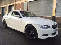 BMW 3 SERIES 2009 2.0 320i M Sport 2 door COUPE, 3 MONTHS WARRANTY, M6 ALLOYS, LOW MILES, BARGAIN