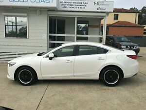 2012 Mazda 6 GJ1021 Touring White Semi Auto Sedan Surfers Paradise Gold Coast City Preview