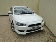 2011 Mitsubishi Lancer CJ MY11 VR-X White 5 Speed Manual Sedan Parramatta Park Cairns City Preview