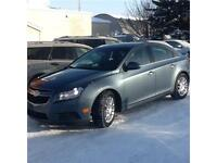 2012 CHEV CRUZE ECO $5995 1 DAY ONLY
