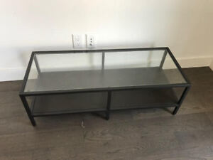 PERFECT CONDITION TV / MEDIA STAND - GLASS