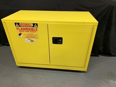 Securall Safety Storage Cabinet For Flammable Liquids