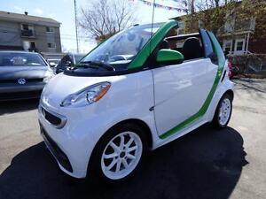 2013 SMART FORTWO ELECTRIC DRIVE CABRIOLET (TOUT ÉQUIPÉ!!!)