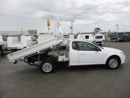 2009 Ford Falcon White Sports Automatic Cab Chassis Pakenham Cardinia Area Preview