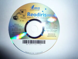 Readiris Pro 11 and Pro 12 for PC and Mac