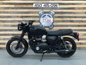 Triumph Bonneville T100 Motocyclettes à Vendre Dans Québec