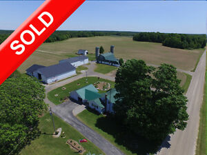 SOLD: Start a New Vegetable or Cash Crop Operation Near Aylmer! London Ontario image 1