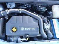 VAUXHALL ASTRA Z17DTH ENGINE OUT OF A 2008 WITH 56K MILES. FULLY TESTED WITH WARRANTY