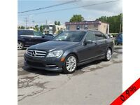 MERCEDES C250 2011 AWD PARKING SENSOR/ TOIT OUVRANT/ BLUETOOTH