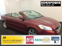 2010 Volvo C70 2.4 i SE Lux 2dr Petrol red Manual