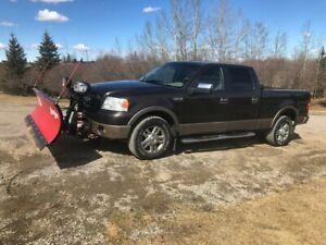 2006 F150 Ford Truck with Boss Snow Plow