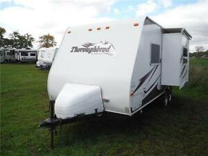 2007 Palomino T21FBSL Ultra Lite Travel Trailer with slideout Stratford Kitchener Area image 2