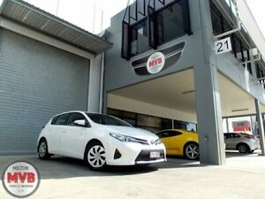 2014 Toyota Corolla ZRE182R Ascent White 7 Speed CVT Auto Sequential Hatchback Eagle Farm Brisbane North East Preview