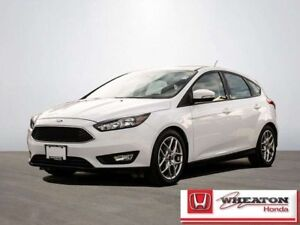 2015 Ford Focus 2.0 SE 4-Door Hatchback w/ Bluetooth, MP3/CD Pla