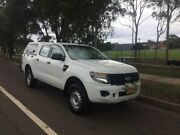 2012 Ford Ranger PX XL 2.2 (4x4) White 6 Speed Automatic Crew Cab Utility Lidcombe Auburn Area Preview