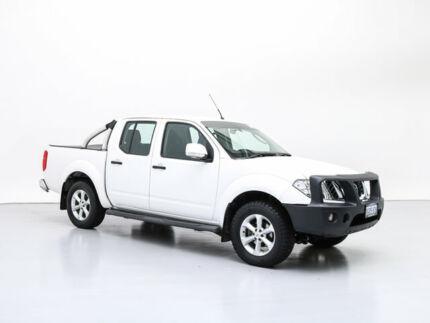 2014 Nissan Navara D40 MY12 ST (4x4) White 5 Speed Automatic Dual Cab Pick-up Jandakot Cockburn Area Preview