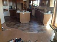 Flooring installation & repairs