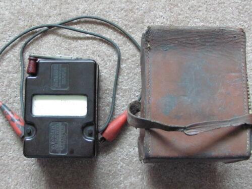 Variable Pressure Midget Megger James G. Biddle Co Insulation Tester Megohmmeter