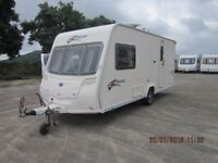 2007 BAILEY PAGEANT MONARCH 2 BERTH CARAVAN WITH MOTOR MOVER ANDERSON CARAVAN SALES