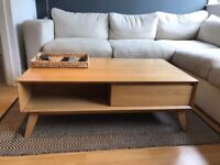Solid Oak coffee table, was £550 new 3 years ago.