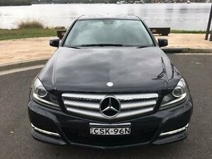 2013 Mercedes-Benz C200 W204 Elegance Black Sports Automatic Sedan Concord Canada Bay Area Preview