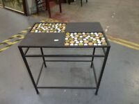 Funky Side Table Retro Style