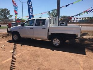 2012 Toyota Hilux 4x4 White 5 Speed Manual Dual Cab Hidden Valley Darwin City Preview
