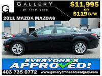 2009 Mazda Mazda6 GS V6 $119 Bi-Weekly APPLY NOW DRIVE NOW