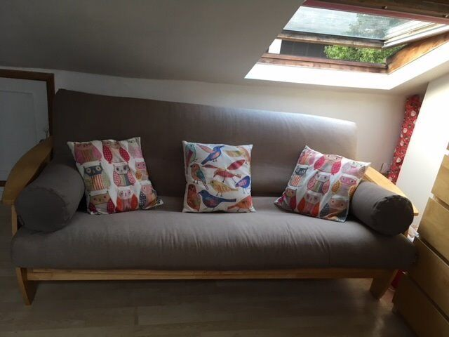 Double Futon Sofabed The Company Grey