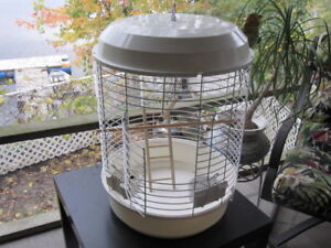 LARGE ROUND PARROT CAGE